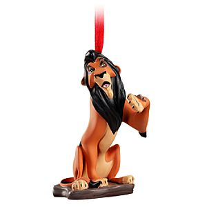 The Lion King Scar Ornament