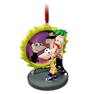 Across the Second Dimension Phineas and Ferb Ornament