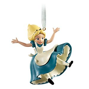 Tumbling Alice in Wonderland Ornament