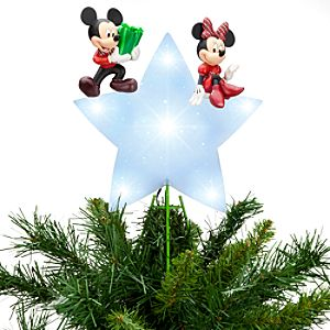 Mickey Mouse and Minnie Tree Topper