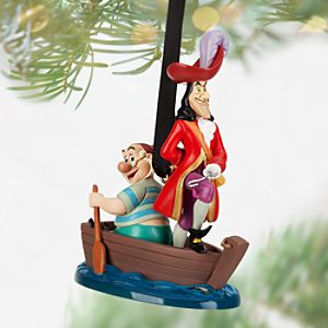 Captain Hook and Mr. Smee Sketchbook Ornament