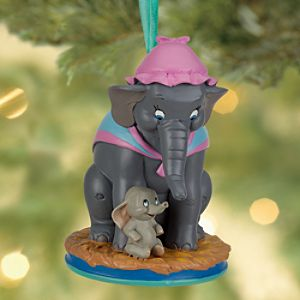 Dumbo and Mrs. Jumbo Sketchbook Ornament