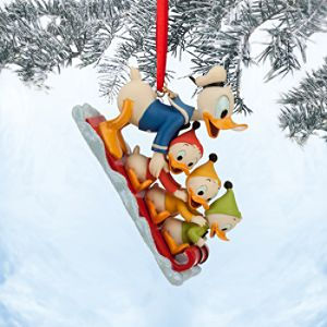 Donald Duck, Huey, Dewey and Louie Sketchbook Ornament