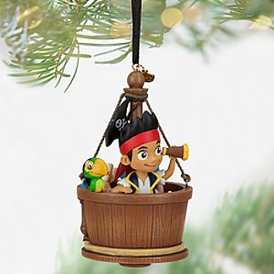 Jake and the Never Land Pirates Sketchbook Ornament