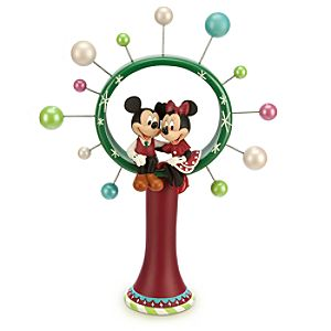 Mickey and Minnie Mouse Tree Topper - Holiday