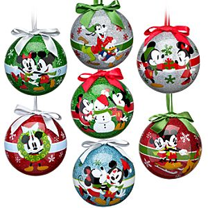 Share the Magic Mickey Mouse Ornament Set -- 7-Pc.