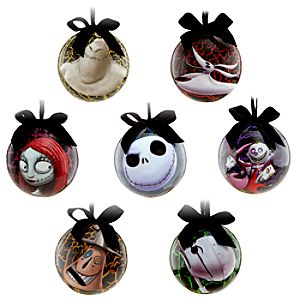 Tim Burtons The Nightmare Before Christmas Ornament Set