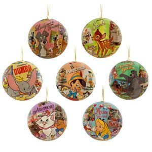 World of Disney Ornament Set
