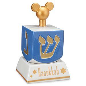 Mickey Mouse Hanukkah Dreidel