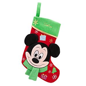 Mickey Mouse Stocking - Holiday - Personalizable