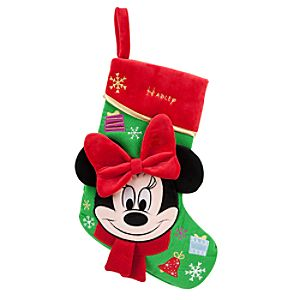 Minnie Mouse Stocking - Holiday - Personalizable
