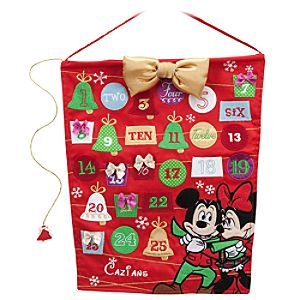 Mickey and Minnie Mouse Advent Calendar - Personalizable