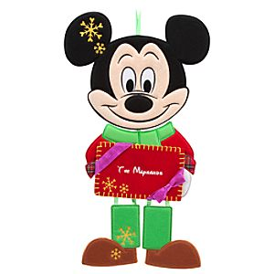 Mickey Mouse Door Sign - Holiday - Personalizable