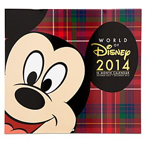 World of Disney 15 Month Calendar