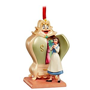Armoire and Belle Beauty and the Beast Ornament