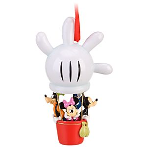 Hand Balloon Mickey Mouse Clubhouse Ornament