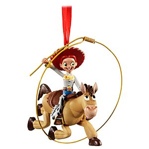 Jessie and Bullseye Toy Story Ornament