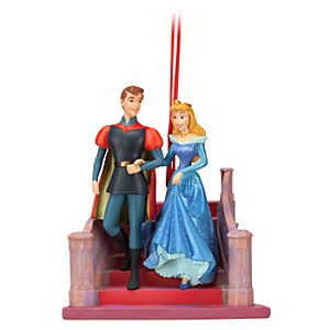 Sleeping Beauty Phillip and Aurora Ornament