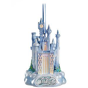 Classic Cinderella Castle Ornament