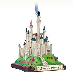 Sleeping Beauty Castle Sketchbook Ornament