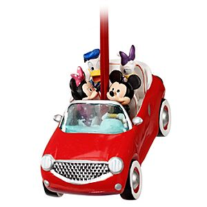Road Trip Mickey Mouse Ornament