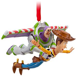 Toy Story Buzz and Woody Ornament