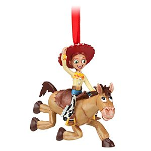 Jessie and Bullseye Sketchbook Ornament