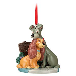 Bella Notte Lady and the Tramp Ornament