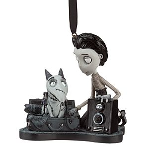 Frankenweenie Victor and Sparky Ornament
