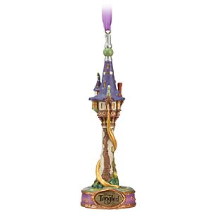 Tangled Rapunzel Tower Ornament