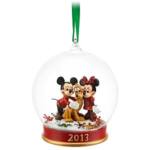 Mickey and Minnie Mouse 2013 Ornament