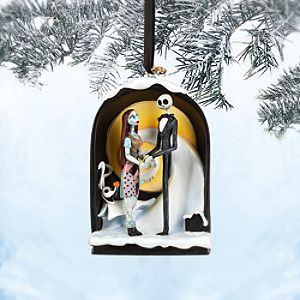 Jack Skellington and Sally Sketchbook Ornament