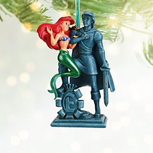 Ariel and Prince Eric Sketchbook Ornament