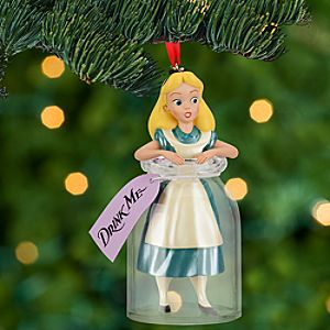 Alice in Wonderland Sketchbook Ornament