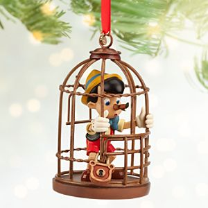 Pinocchio Sketchbook Ornament