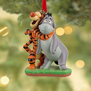 Tigger and Eeyore Sketchbook Ornament
