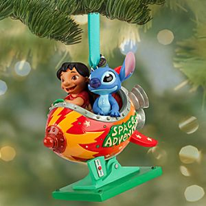 Lilo and Stitch Sketchbook Ornament