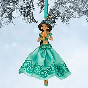 Jasmine Sketchbook Ornament