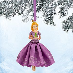 Rapunzel Sketchbook Ornament