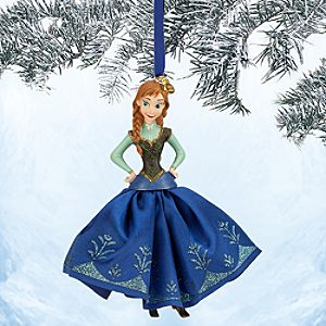 Anna Sketchbook Ornament - Frozen