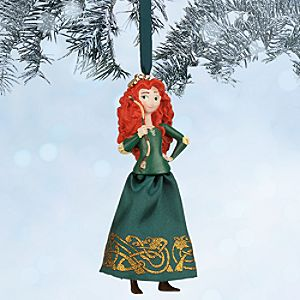 Merida Sketchbook Ornament - Brave