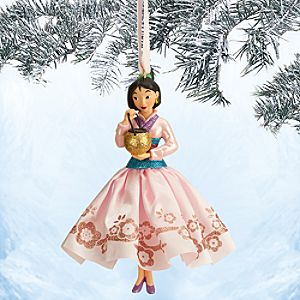 Mulan Sketchbook Ornament