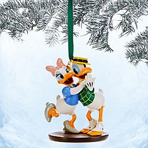 Donald and Daisy Duck Sketchbook Ornament - Mr. Duck Steps Out