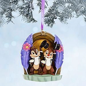 Chip n Dale Sketchbook Ornament - Two Chips and a Miss