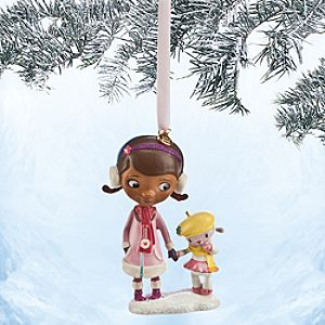 Doc McStuffins and Lambie Sketchbook Ornament