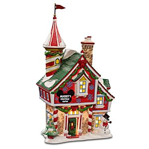 Light-Up Mickeys Christmas Castle Building by Dept. 56