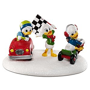 Off to the Races Huey, Dewey and Louie Figurine by Dept. 56