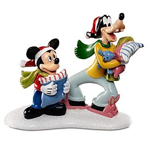 Mickeys Tree House Goofy and Mickey Mouse Figurine by Dept. 56