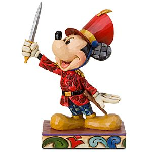 Nutcracker Mickey Mouse Figurine by Jim Shore