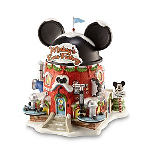 Light-up Mickeys Ears Factory Building by Dept. 56